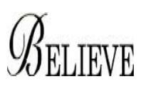 Believe - ETG Tekstil San.Tic. Ltd. Şti.
